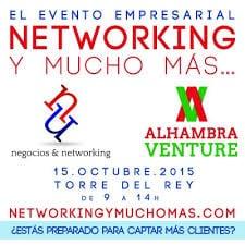Cartel de II Edición de Networking y mucho más