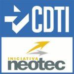 Logo CDTI Programa Neotec