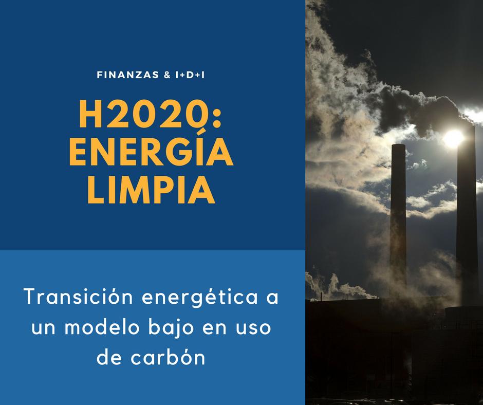 H2020 Energía limpia