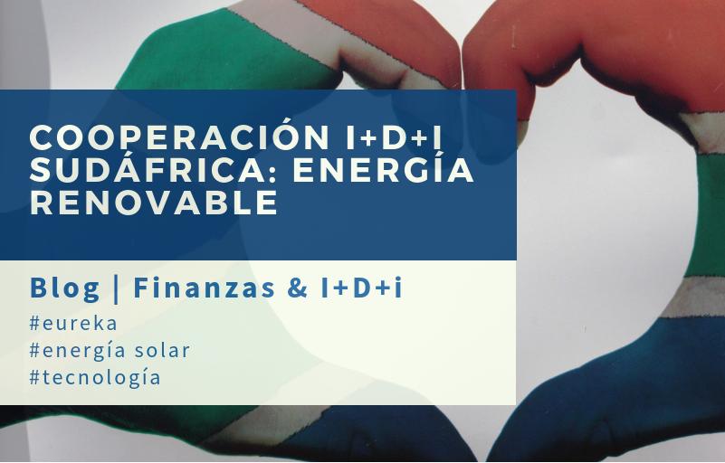 Cooperación tecnológica internacional Sudáfrica. Energía solar. Eureka