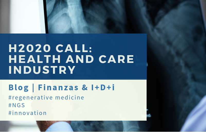 H2020 Regenerative medicine and NGS | Finanzas I+D+i